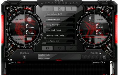 MSI Afterburner 4.5.0.12819