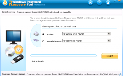 Windows Password Recovery Tool Professional 6.4.3.0 + ключ