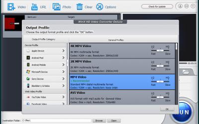 WinX HD Video Converter Deluxe 5.12.0