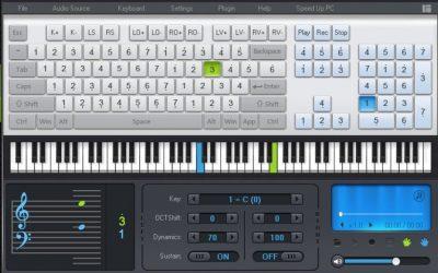 Пианино на компьютер