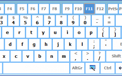 Экранная клавиатура (Hot Virtual Keyboard)