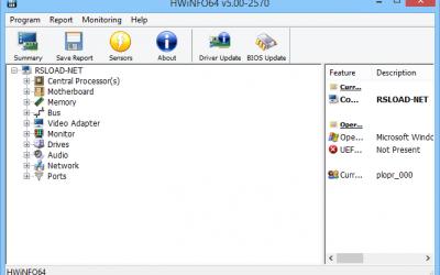 HWiNFO64 версии 5.86