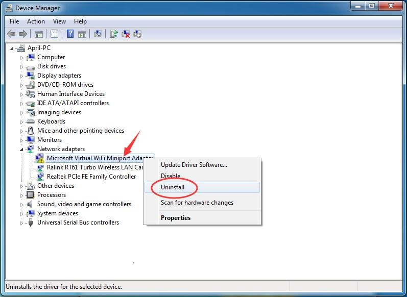 WiFi NETwork Driver for XP